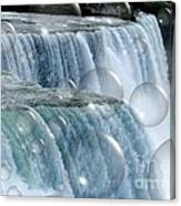 Bubbles Over Niagara Falls Canvas Print