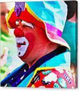 Bubby The Clown Canvas Print
