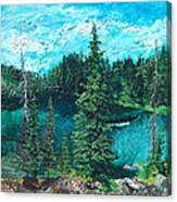 Buck Lake Canvas Print