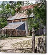 Buck Ranch Barn Canvas Print