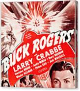 Buck Rogers, Bottom Larry Crabbe Canvas Print