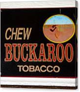 Buckaroo  Canvas Print