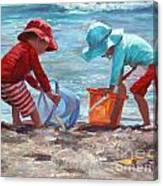 Buckets Of Fun Canvas Print