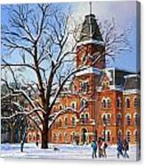 Buckeye Winter Canvas Print