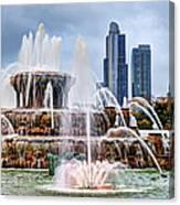 Buckingham Fountain #1 Canvas Print