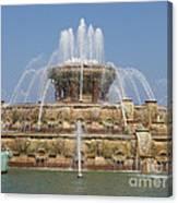 Buckingham Fountain - Chicago Canvas Print