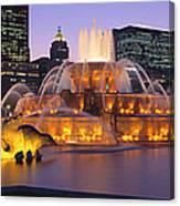 Buckingham Fountain, Chicago, Illinois Canvas Print