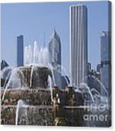 Buckingham Fountain Revisited Canvas Print