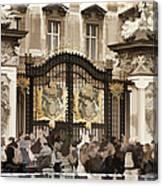 Buckingham Palace Gates Canvas Print