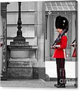 Buckingham Palace Guards Canvas Print