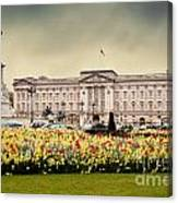 Buckingham Palace In London Uk Canvas Print