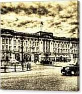 Buckingham Palace Vintage Canvas Print