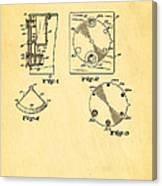 Bucky Einstein Auto Exposure Camera Patent Art 1936 Canvas Print