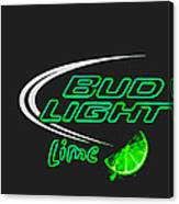 Bud Light Lime 2 Canvas Print