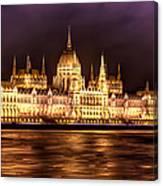 Buda Parliament  Canvas Print