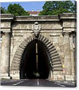 Buda Tunnel In Budapest Canvas Print