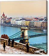 Budapest - Hungarian Pastels Canvas Print