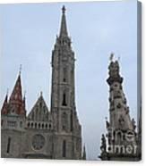 Budapest Spires Canvas Print