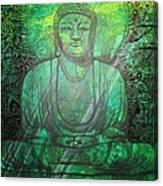 Budda's Garden Canvas Print