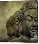 Buddha Bronze Canvas Print