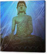 Buddha Cosmic Mind Canvas Print