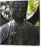 Buddha Detail Canvas Print