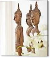 Buddha Figurine  Canvas Print