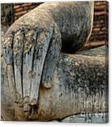 Buddha Hand Thailand Canvas Print