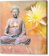 Buddha Of Compassion Canvas Print