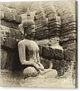 Buddha Sukhothai Thailand 5 Canvas Print