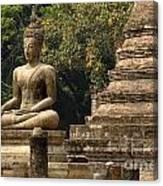 Buddha Sukhothai Thailand 6 Canvas Print