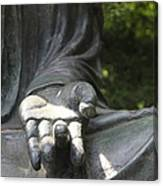 Buddha's Hand Canvas Print