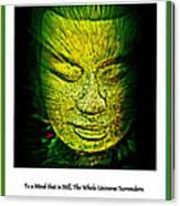 Buddhas Mind II Canvas Print