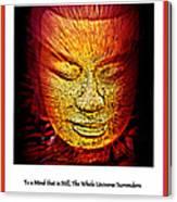 Buddhas Mind IIi Canvas Print