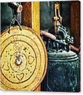 Buddhist Gong Canvas Print