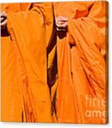 Buddhist Monks 02 Canvas Print