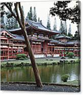 Buddhist Temple, Byodo-in Temple Canvas Print