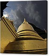 Buddhist Temple In Bangkok Thailand Buddhism  Canvas Print