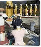 Buddist Shrine Canvas Print