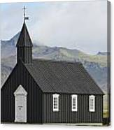 Budir Church Stadarsveit, Snaefellsnes Canvas Print