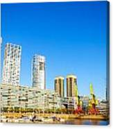 Buenos Aires Waterfront Canvas Print
