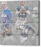 Buffalo Bills Legends Canvas Print