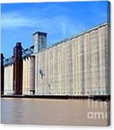 Buffalo Grain Mill Canvas Print