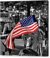 Buffalo Marathon 2013 Respect Canvas Print