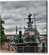 Buffalo Naval And Military Park Canvas Print