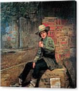Buffalo Newsboy Canvas Print