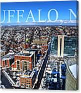 Buffalo Ny Winter 2013 Canvas Print