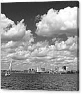 Buffalo Skyline Canvas Print