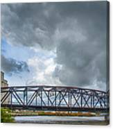 Buffalo's Ohio Street Bridge Canvas Print