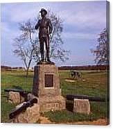 Buford At Gettysburg Canvas Print